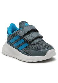 Adidas - adidas Buty Tensaur Run I FY9201 Szary. Kolor: szary. Sport: bieganie