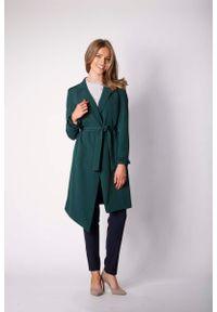 Zielony płaszcz Nommo elegancki