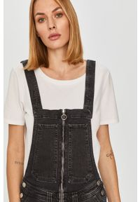 Szare ogrodniczki jeansowe Pepe Jeans