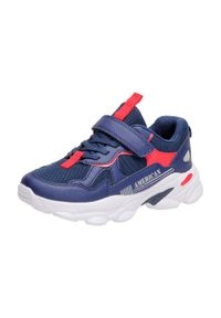 Niebieskie buty sportowe American Club