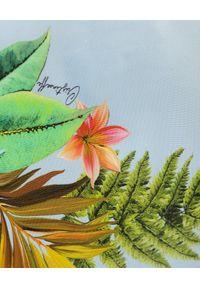 CRISTINAEFFE - Sukienka z kwiatowym printem. Kolor: zielony. Materiał: materiał. Wzór: kwiaty, nadruk. Sezon: lato. Długość: maxi