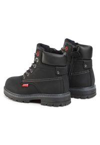 Czarne buty zimowe Levi's® z cholewką