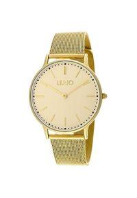 Złoty zegarek Liu Jo casualowy
