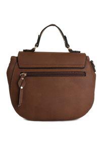 Brązowa torebka klasyczna Gabor klasyczna