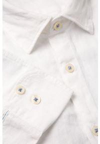 Biała koszula Marc O'Polo polo, na co dzień, długa