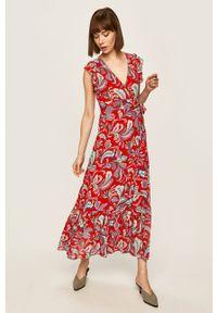 Pepe Jeans - Sukienka Miren. Okazja: na co dzień. Materiał: tkanina. Typ sukienki: proste. Styl: casual