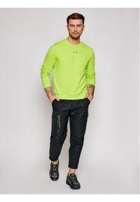 Armani Exchange Bluza 3KZMGD ZJ6HZ 1853 Zielony Regular Fit. Kolor: zielony