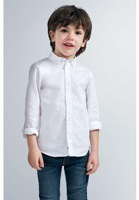 Biała koszula Mayoral klasyczna, długa