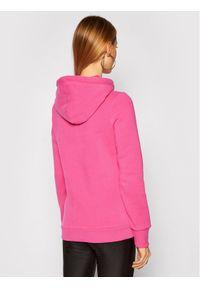 Superdry Bluza Flock W2010381A Różowy Regular Fit. Kolor: różowy