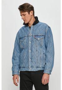 Niebieska kurtka Levi's® z motywem z bajki, na co dzień, biznesowa, bez kaptura