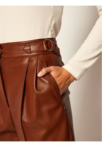 Brązowe spodnie Sportmax Code