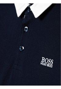 Niebieski t-shirt BOSS polo