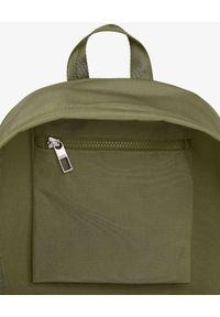 Kenzo - KENZO - Zielony plecak Kampus Tiger. Kolor: zielony. Materiał: materiał. Wzór: aplikacja. Styl: casual