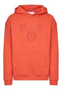 PLNY Textylia Bluza Stanford PT-BL-KH-00004 Czerwony Regular Fit. Kolor: czerwony