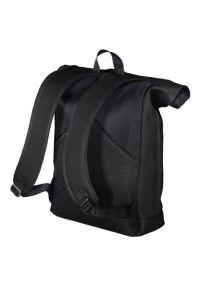 Czarny plecak na laptopa hama elegancki