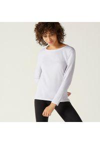 NYAMBA - Koszulka z długim rękawem fitness. Materiał: bawełna, materiał, elastan. Długość rękawa: długi rękaw. Długość: długie. Sport: fitness