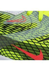 Żółte półbuty Nike na co dzień, z cholewką, casualowe