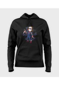MegaKoszulki - Bluza damska z kapturem Chucky. Typ kołnierza: kaptur
