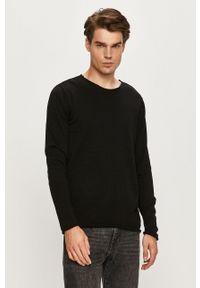 Only & Sons - Sweter. Okazja: na co dzień. Kolor: czarny. Materiał: dzianina. Styl: casual