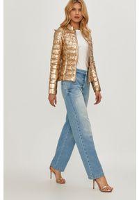 Niebieskie jeansy loose fit Patrizia Pepe z podwyższonym stanem, klasyczne