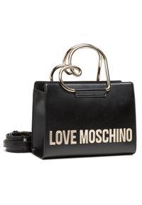 Love Moschino - Torebka LOVE MOSCHINO - JC4120PP1CLN1000 Nero. Kolor: czarny. Materiał: skórzane. Styl: klasyczny, casual
