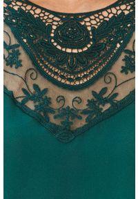 Zielona bluzka Jacqueline de Yong długa, z długim rękawem, na co dzień, casualowa