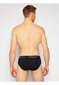 VERSACE - Versace Komplet 2 par slipów Basso AU04019 Czarny. Kolor: czarny