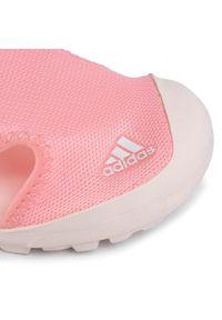 Różowe sandały Adidas