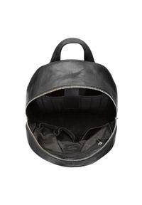 Wittchen - Męski plecak na laptopa z miękkiej skóry. Kolor: czarny. Materiał: skóra. Styl: klasyczny, casual, elegancki, biznesowy