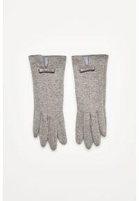 Szare rękawiczki MOODO