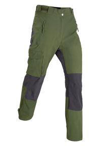 Zielone spodnie bonprix długie
