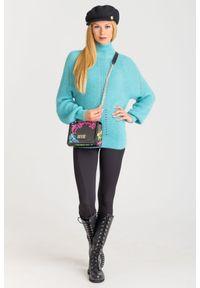 Sweter Pinko z długim rękawem, na spacer, krótki