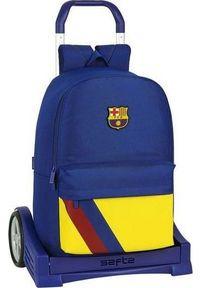 FC Barcelona Torba szkolna z kółkami Evolution F.C. Barcelona Niebieski. Kolor: niebieski
