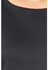 Niebieska sukienka Vila prosta, biznesowa