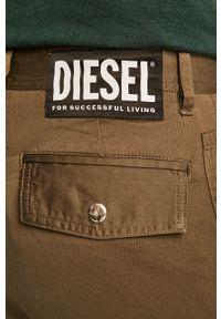 Zielone spodnie Diesel