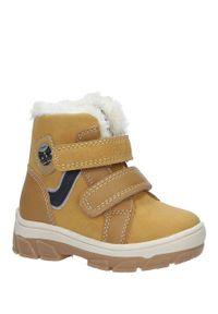 Buty zimowe Casu na rzepy