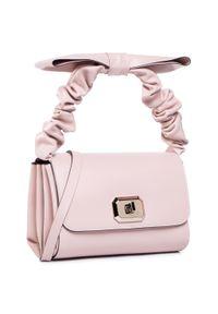 Różowa torebka klasyczna Red Valentino