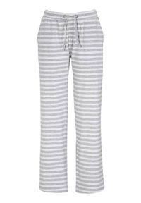 Cellbes Spodnie od pidżamy popielaty melanż w paski female szary/ze wzorem 34/36. Kolor: szary. Długość: długie. Wzór: melanż, paski