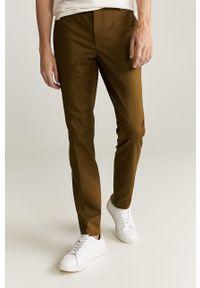 Brązowe spodnie Mango Man