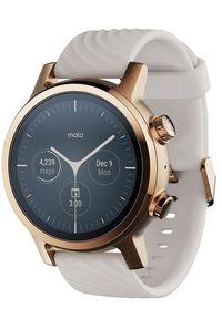 MOTOROLA smartwatch Moto 360 3. generacji, Rose Gold. Rodzaj zegarka: smartwatch. Kolor: złoty. Materiał: materiał. Styl: elegancki