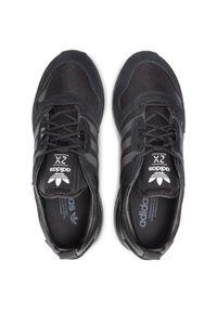 Czarne buty sportowe Adidas Adidas ZX, na co dzień