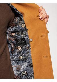 Brązowy płaszcz przejściowy Rage Age #7