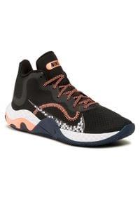 Nike - Buty NIKE - Renew Elevate CK2669 006 Black/Bright Mango. Kolor: czarny. Materiał: materiał