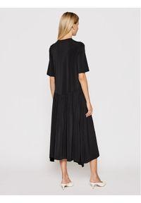 Max Mara Leisure Sukienka codzienna Viadana 36210916 Czarny Regular Fit. Okazja: na co dzień. Kolor: czarny. Typ sukienki: proste. Styl: casual