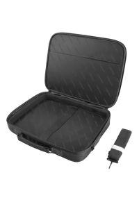 Czarna torba na laptopa NATEC casualowa