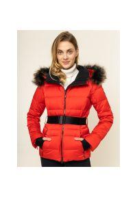 Czerwona kurtka sportowa Descente narciarska