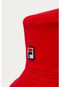 Czerwony kapelusz Fila gładki