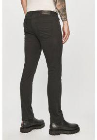 Jack & Jones - Spodnie. Okazja: na co dzień. Kolor: czarny. Materiał: tkanina. Styl: casual