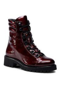 Czerwone buty trekkingowe HÖGL