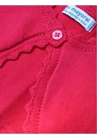 Mayoral Sweter 306 Różowy Regular Fit. Kolor: różowy #3